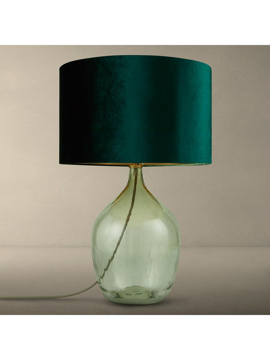 Glass Lamp John Lewis Croft Collection Robyn Bottle Glass Lamp Base With John Lewis Jenny