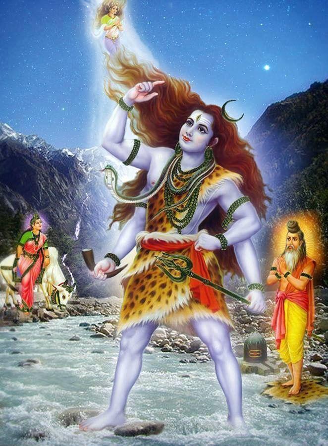 Shiva Animated Wallpaper Lord Shiv Holding Ganga Images Of Hindu Gods Shiva