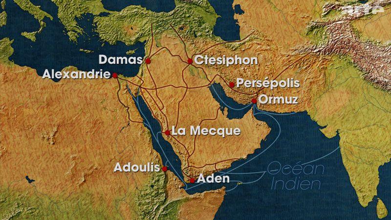 Mekka Liegt Am Schnittpunkt Der Karawanenwege Zwischen Afrika