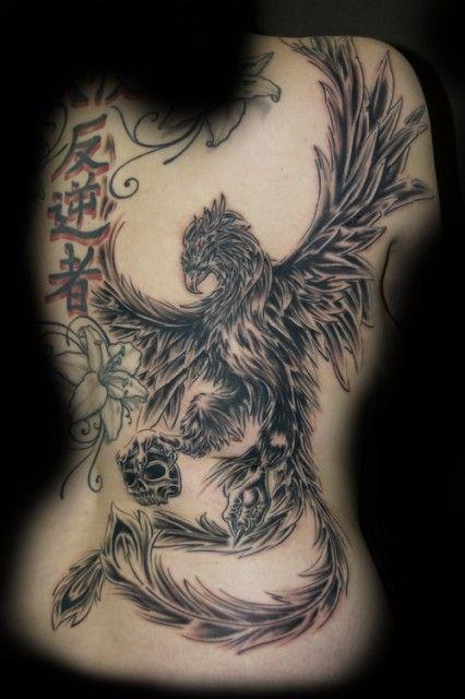 Phönix | Tattoo | Tattoos, Wicked tattoos und Girl tattoos
