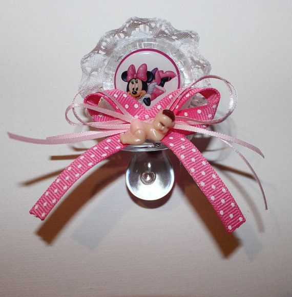 Minnie Mouse Baby Shower Party Favors: Mickey And Minnie Mouse Baby Shower Party Favors By