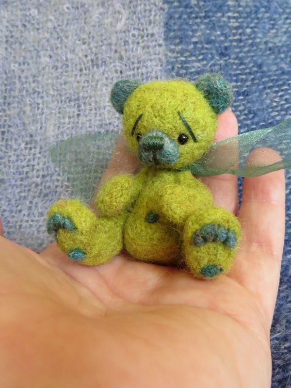 Scout is a super cute Little Handfuls bear