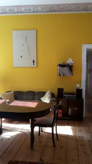 Ein spannendes gemeinsames Wohnzimmer! Es ist sofort zu sehen - retro mobel wohnzimmer