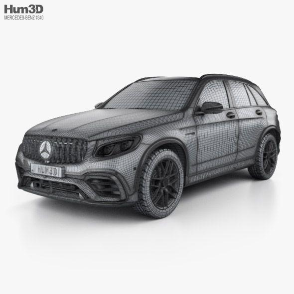 Mercedes Benz Glc Class X205 2015 3d Model: Mercedes-Benz GLC-class (X205) S AMG With HQ Interior 2017