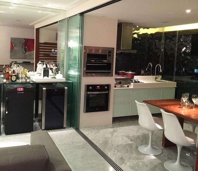 Varanda Gourmet por Ana Cunha #adega #terrace #homedecor #decoração #interiordesign