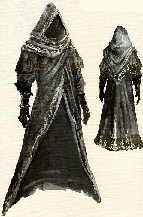 Dark souls 2  Leydia Pyromancer concept art  03c041a62