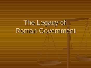 the roman government and how it Roman government ancient rome experienced three different types of government: monarchy republic empire while the myth of rome's origins involve romulus killing.
