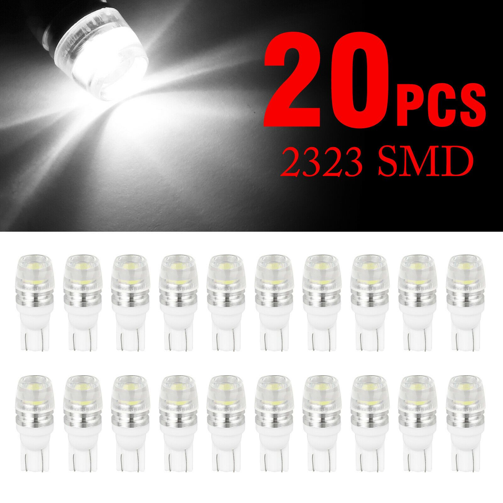 10x Blue T10 168 194 Led Bulbs Instrument Gauge Cluster Dash Light W Sockets In 2020 Light Bulb Lamp Led Bulb Bulb