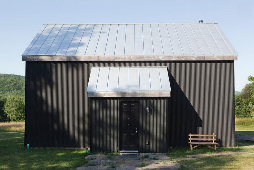 Exterior Cladding Kimberly Peck Corrugated Metal Siding Modern Exterior Metal Buildings