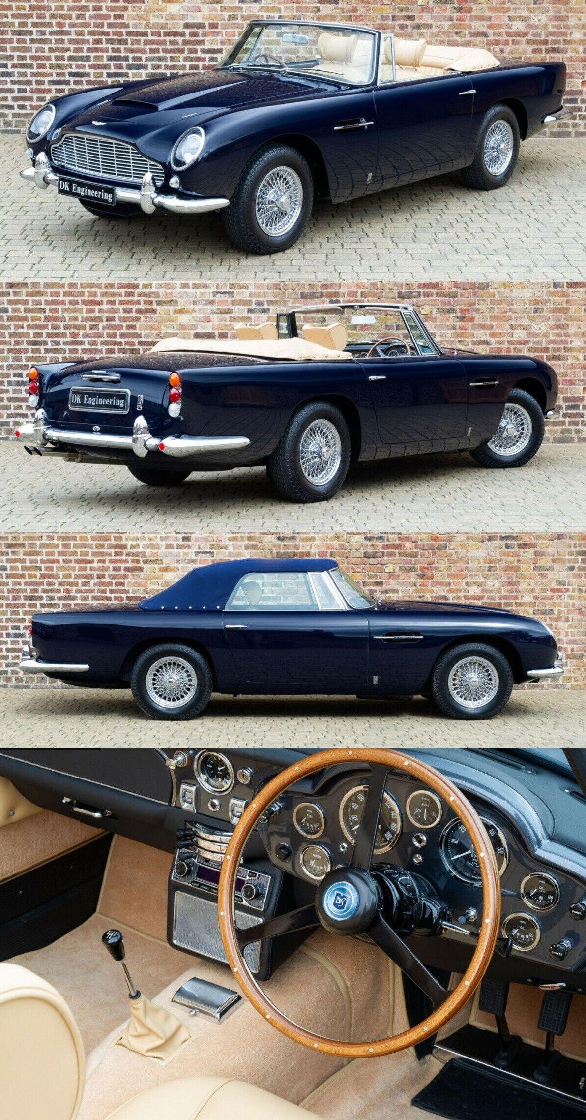 1965 Aston Martin DB5 Aston martin, Aston martin db5