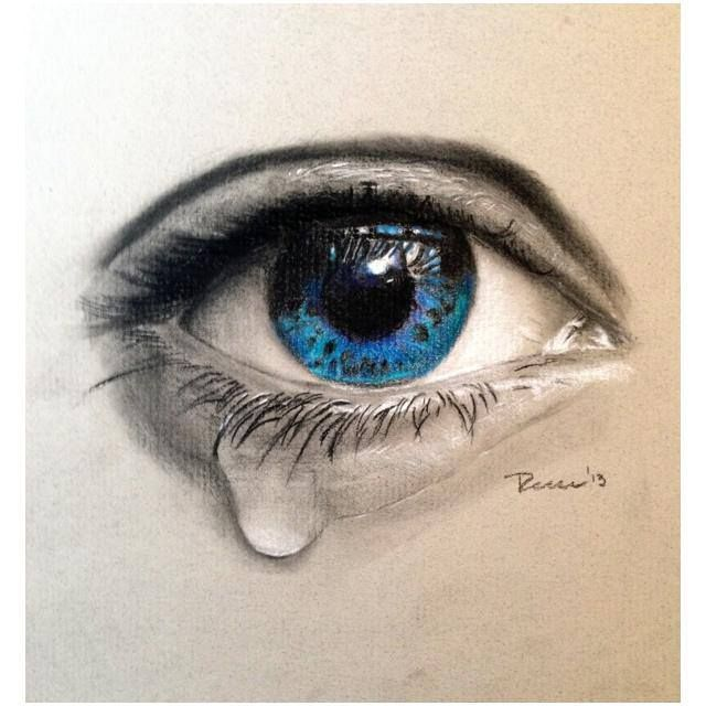 Image Result For 3d Eye Tattoo Colour Crying Eye Drawing Crying