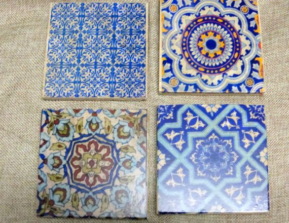 Moroccan Stone Coasters