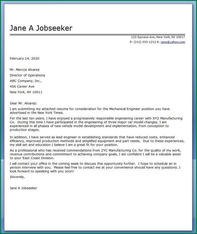 job application letter engineerver mechanical engineer engineering - engineering executive resume
