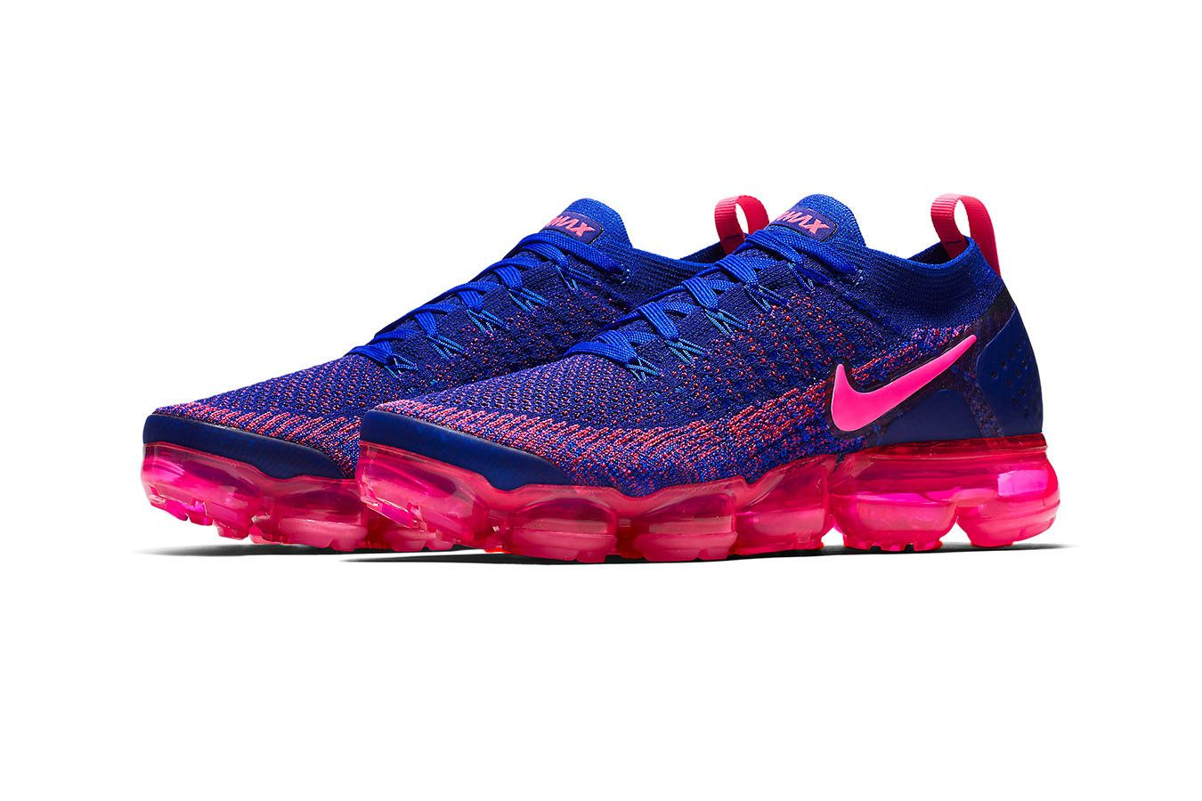 Nike Air VaporMax Flyknit 2.0 Racer Blue Release info Date Racer Pink Blue  sneaker colorway price 87f57e96f