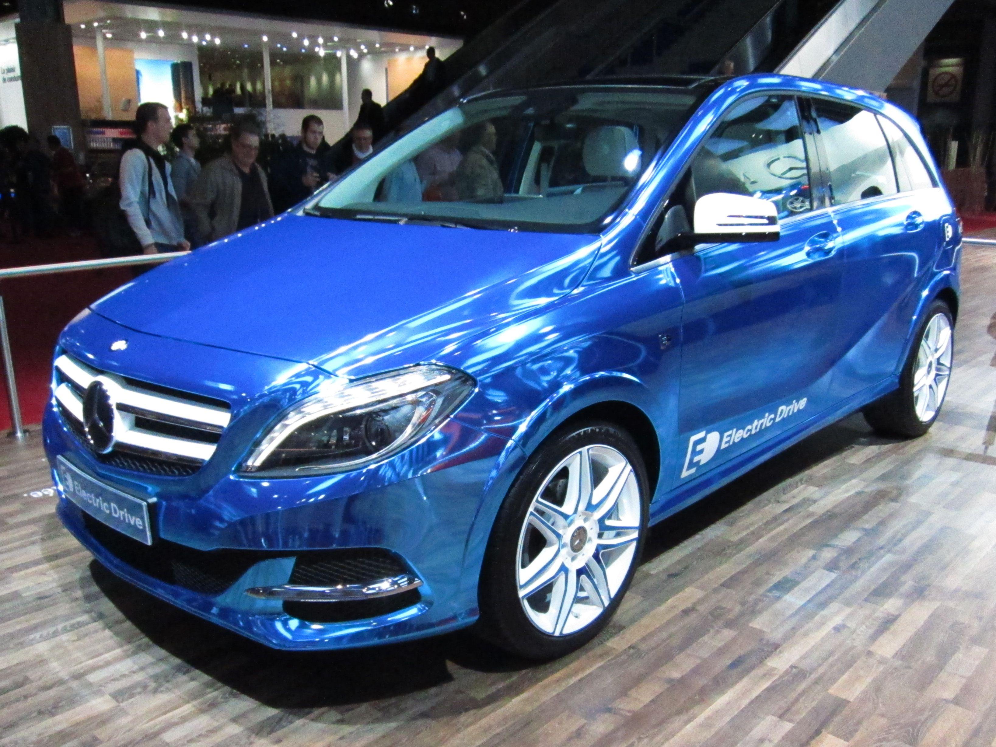 2015 Mercedes-Benz B-Class Electric Car Configurator Now Live