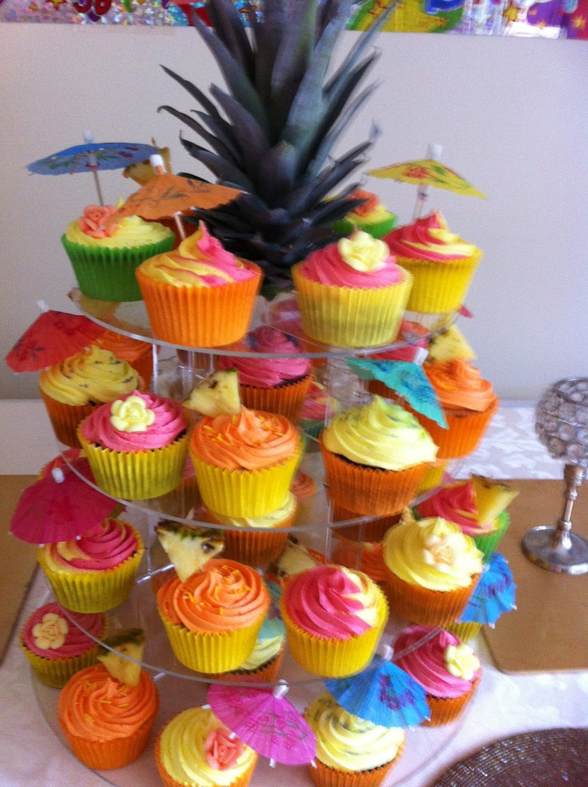 Caribbean Christmas Party Ideas Part - 29: Caribbean Party | Caribbean Cupcakes For Parties