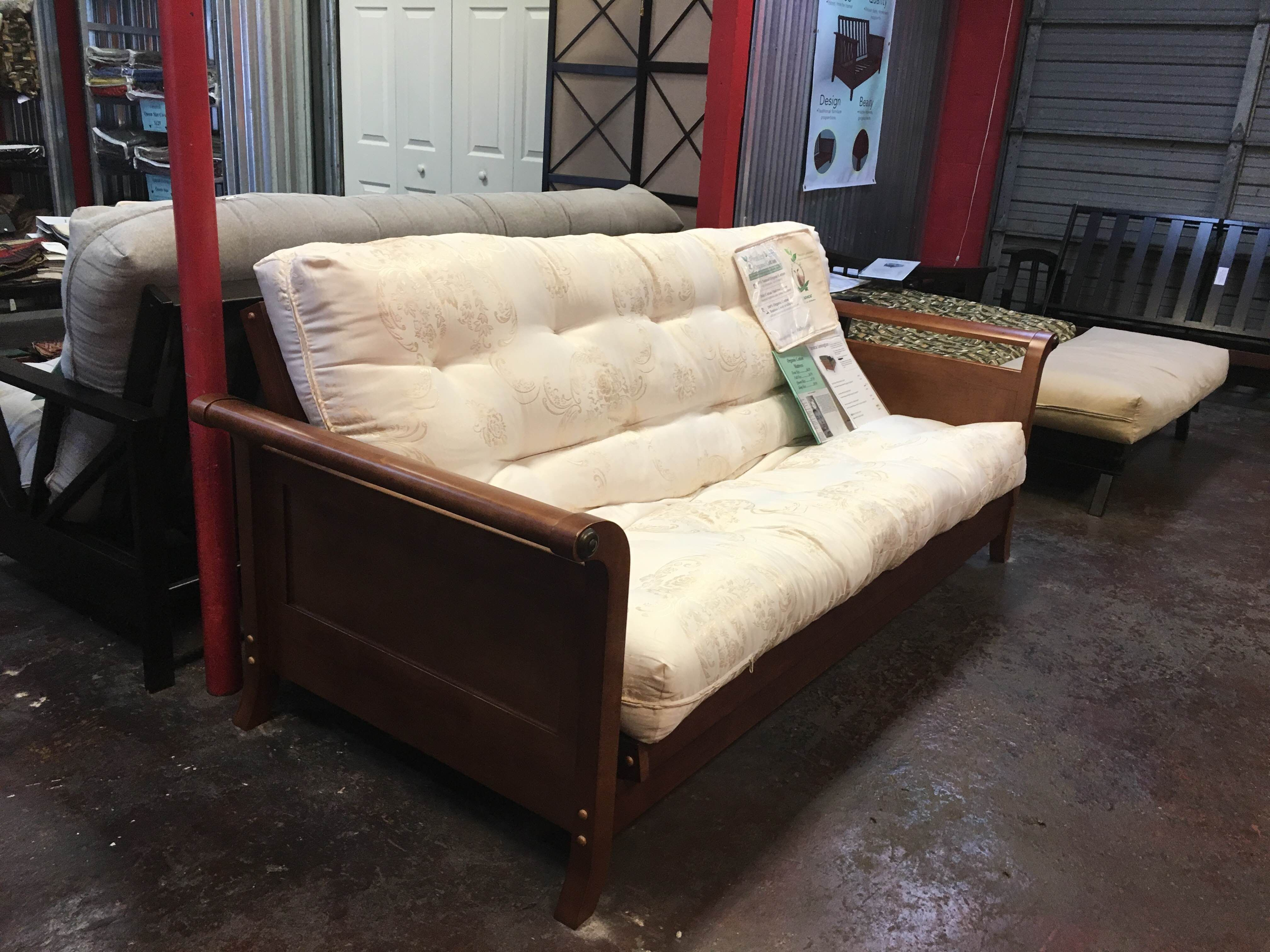 Here is another pic of the futon called the Strata Lexington in