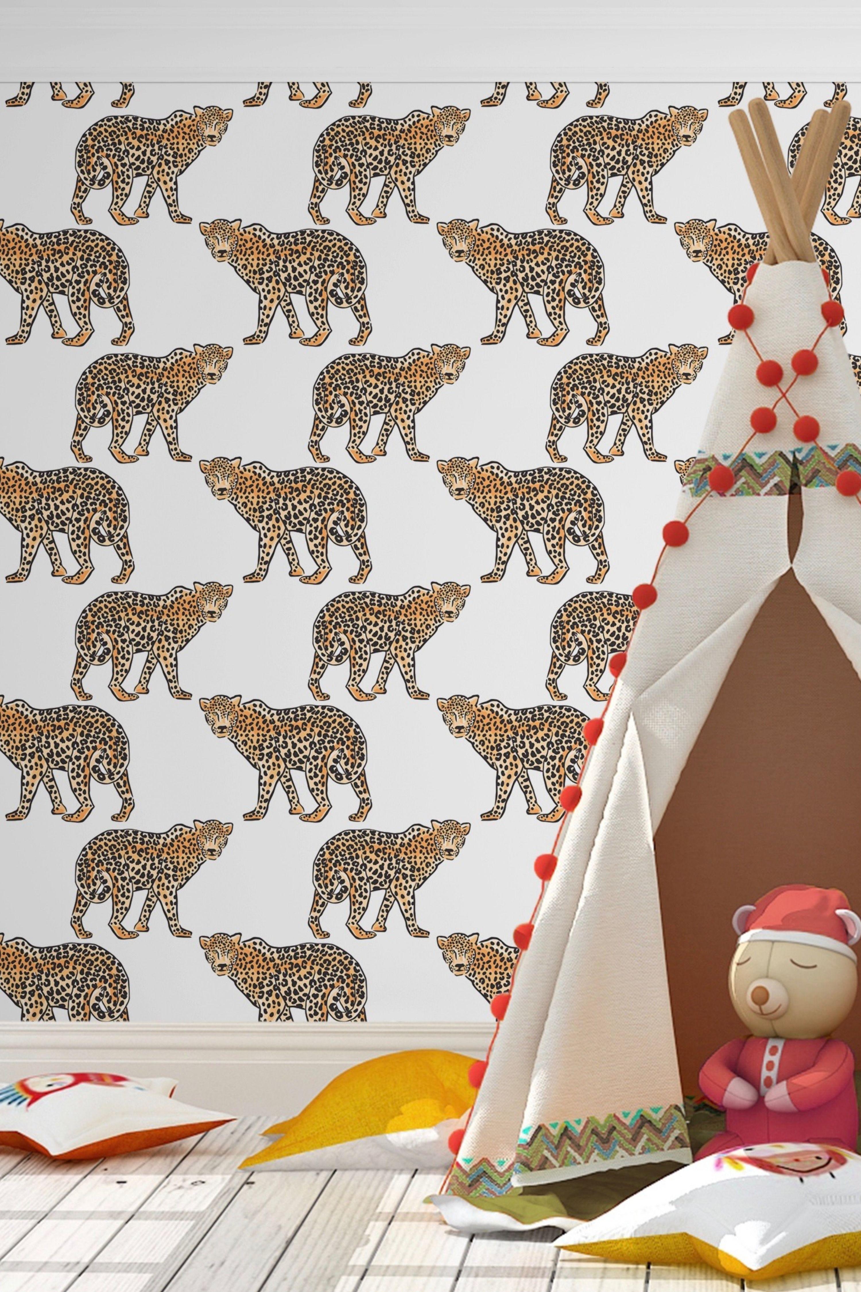 Leopard Print Peel And Stick Wallpaper Peel And Stick Wallpaper Leopard Print Wallpaper Print Wallpaper
