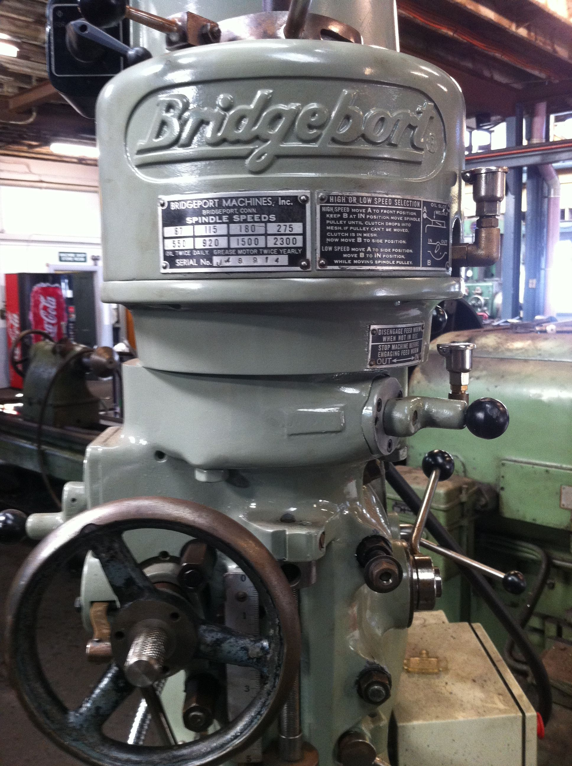 Bridgeport Milling Machine Machine Shop Milling Machine Machine Tools