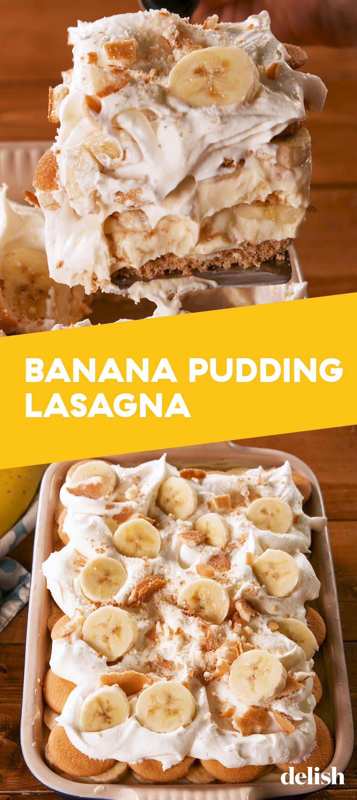 Banana Pudding Lasagna