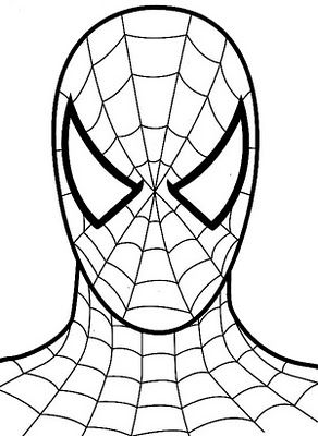 Spiderman Coloring Pages Spiderman Coloring Spiderman Face Free Coloring Pages