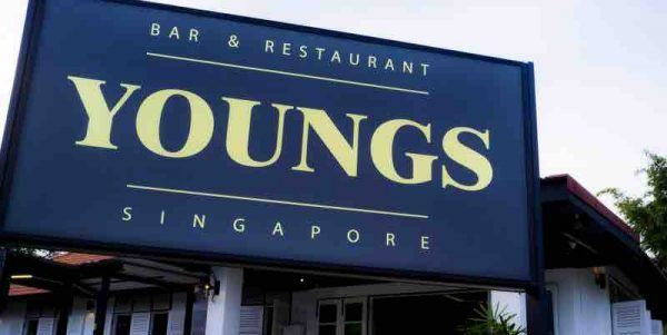YOUNGS Bar & Restaurant Singapore NS50 Spend $50 & Get $10 Off Promotion 1-31 Jul 2017