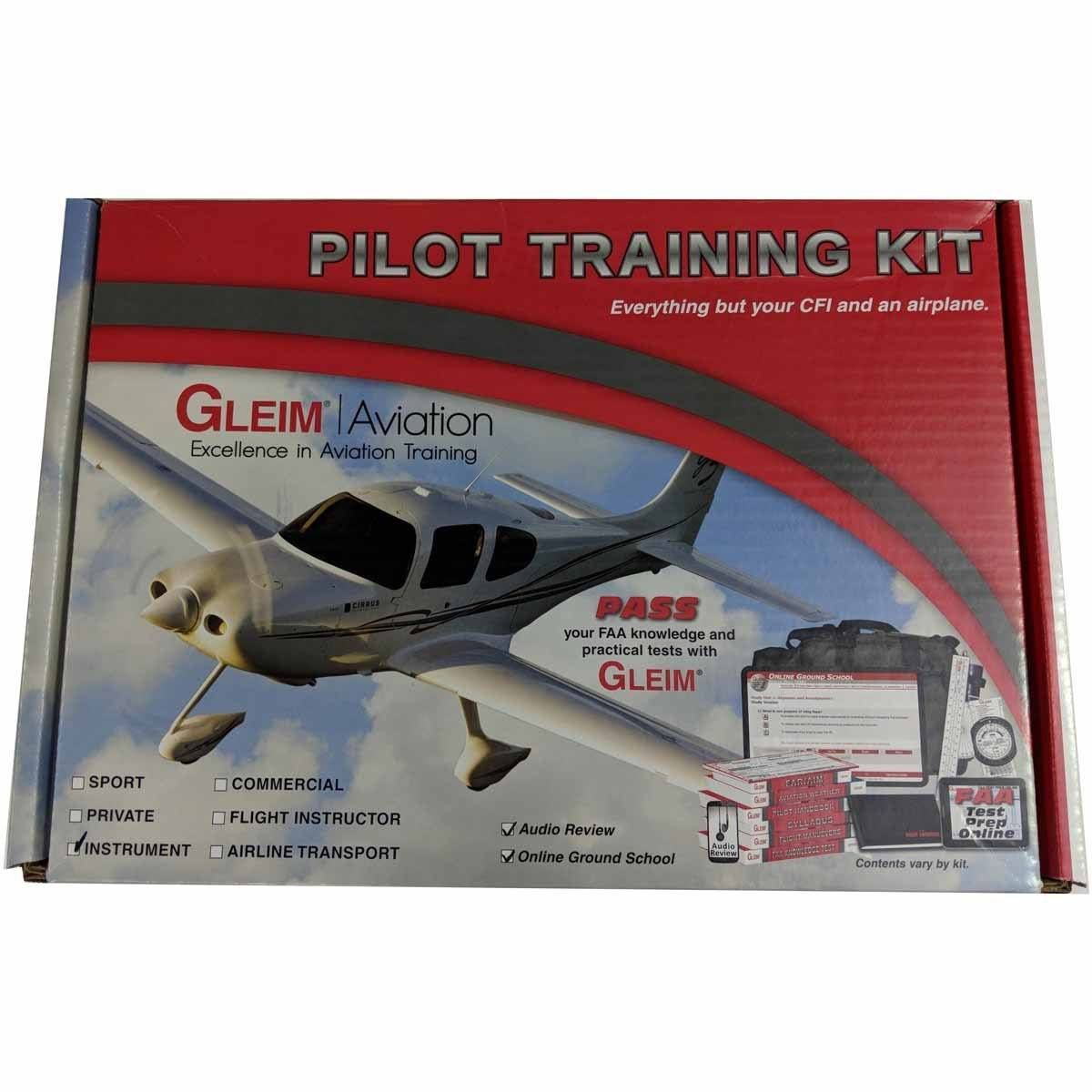 Gleim Deluxe Instrument Pilot Kit with Audio Review