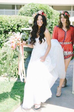 Bohemian Wedding at Temecula Creek Inn | Ruffled