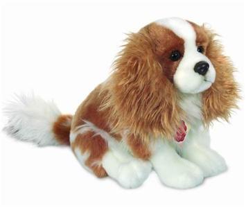 Teddy Hermann Cavalier King Charles Spaniel Dog Soft Plush Toy