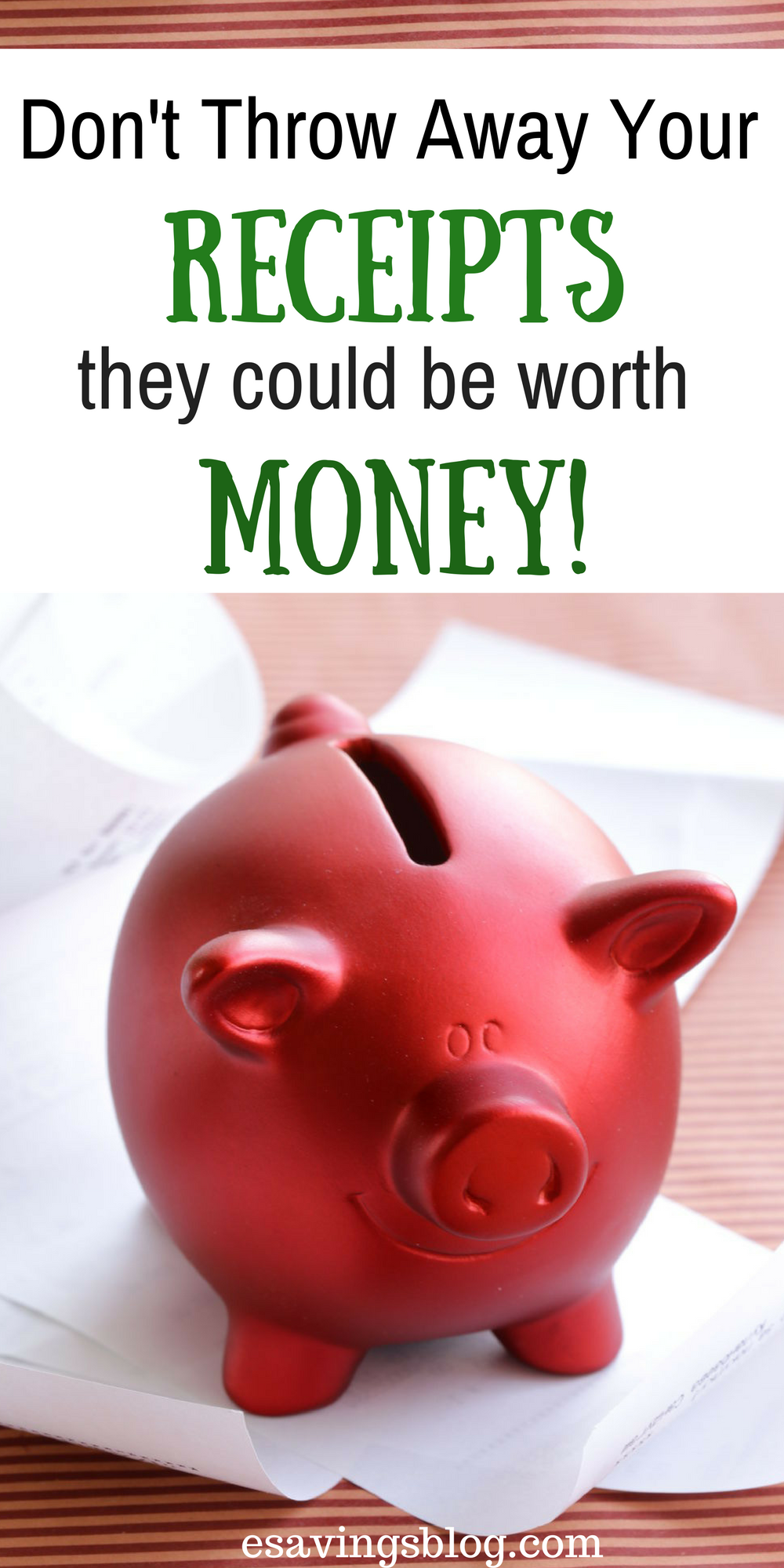 Money Receipts Turn Your Receipts Into Money Using These Tips  Personal Finance .