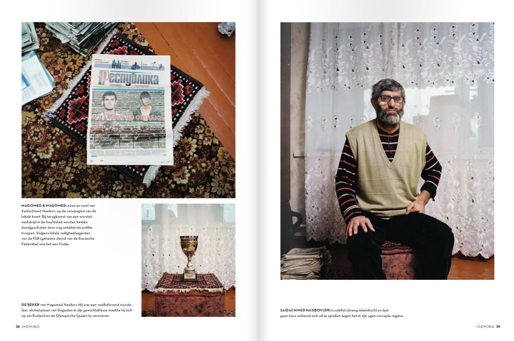 OneWorld magazine nr 4- 2012- Sochi project -Photography Rob Hornstra- Text Arnold van Bruggen- Picture editor Anja Koelstra #oneworld