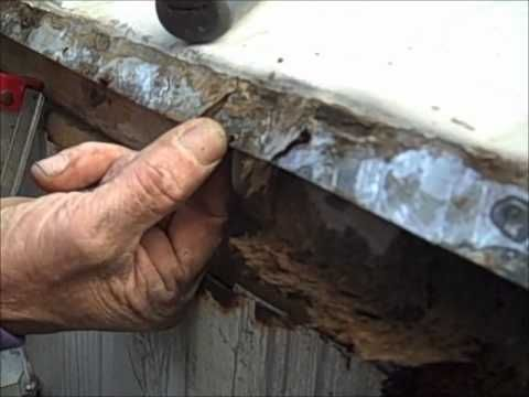 Mobile Home Gutters And How To Repair Them Youtube