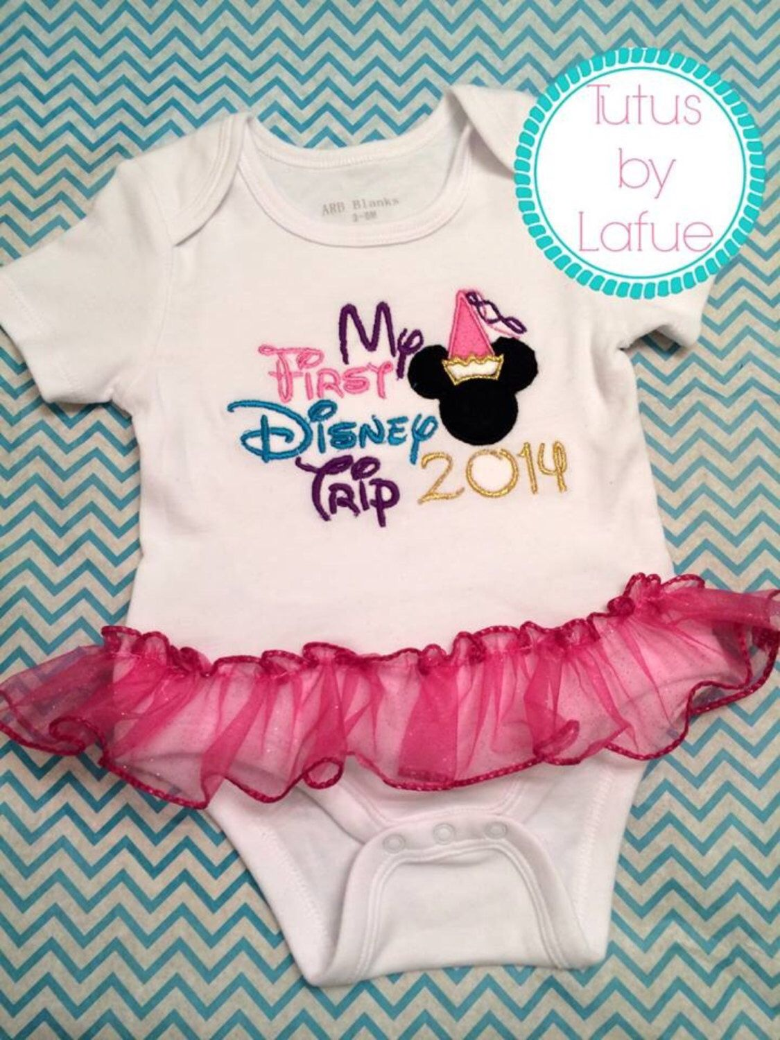 My First Trip to Disney Romper/Shirt by TutusbyLafue on Etsy https://www.etsy.com/listing/190414819/my-first-trip-to-disney-rompershirt