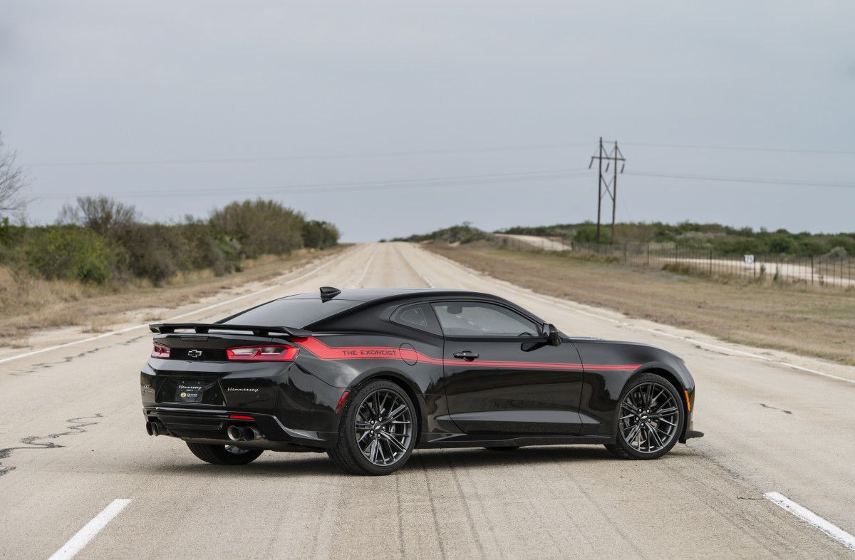 The 217-MPH \'Exorcist\' Camaro Is Now the World\'s Fastest Muscle Car ...