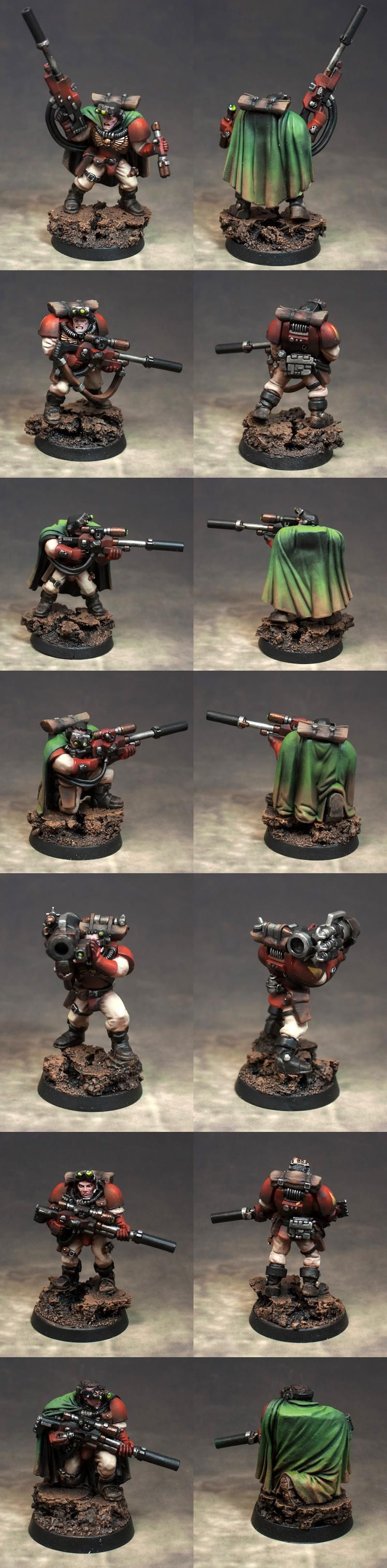 Blood Angel Scout Sniper