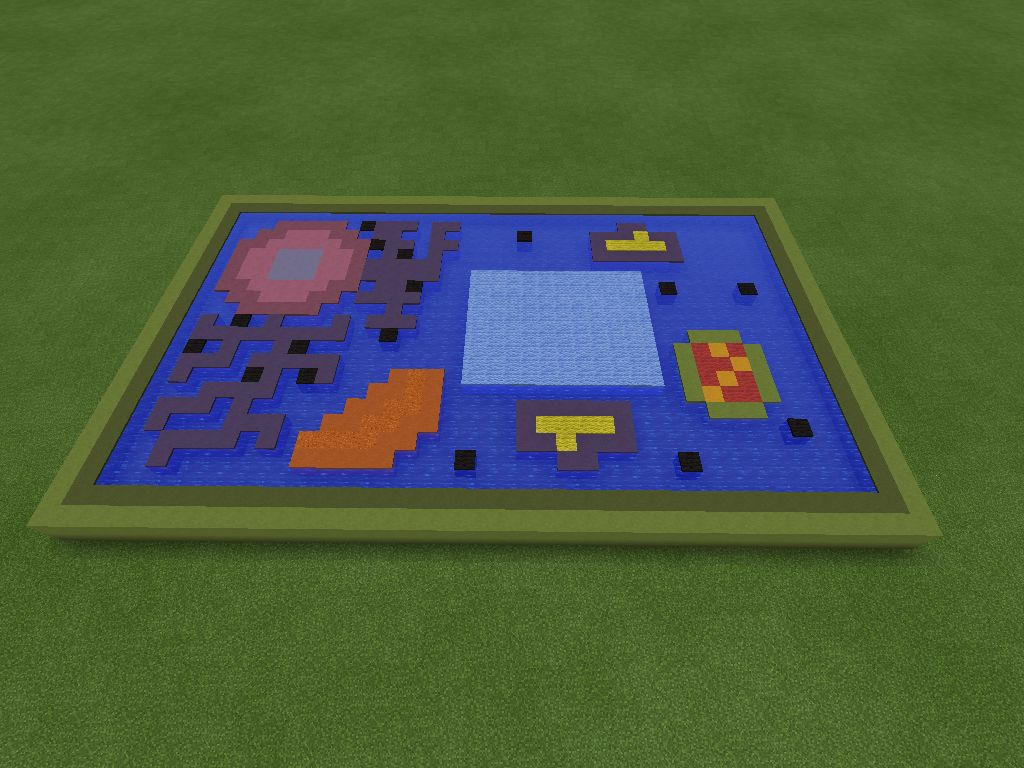 Plant cell made in minecraft pe video game stuff pinterest plant cell made in minecraft pe publicscrutiny