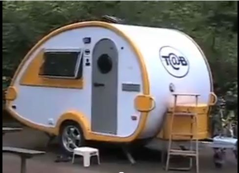 Do You Know That Modern Teardrop Camper Trailer Not Only Brings Nostalgia  But Also Comfort?