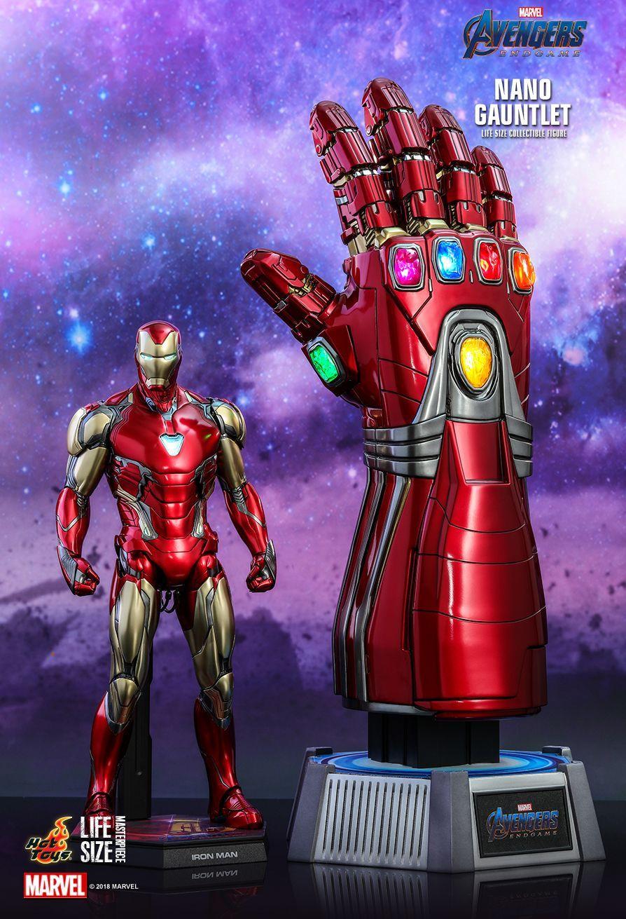 Hot Toys Avengers Endgame Nano Gauntlet Life Size Collectible Marvel Collectibles Iron Man Armor Hot Toys