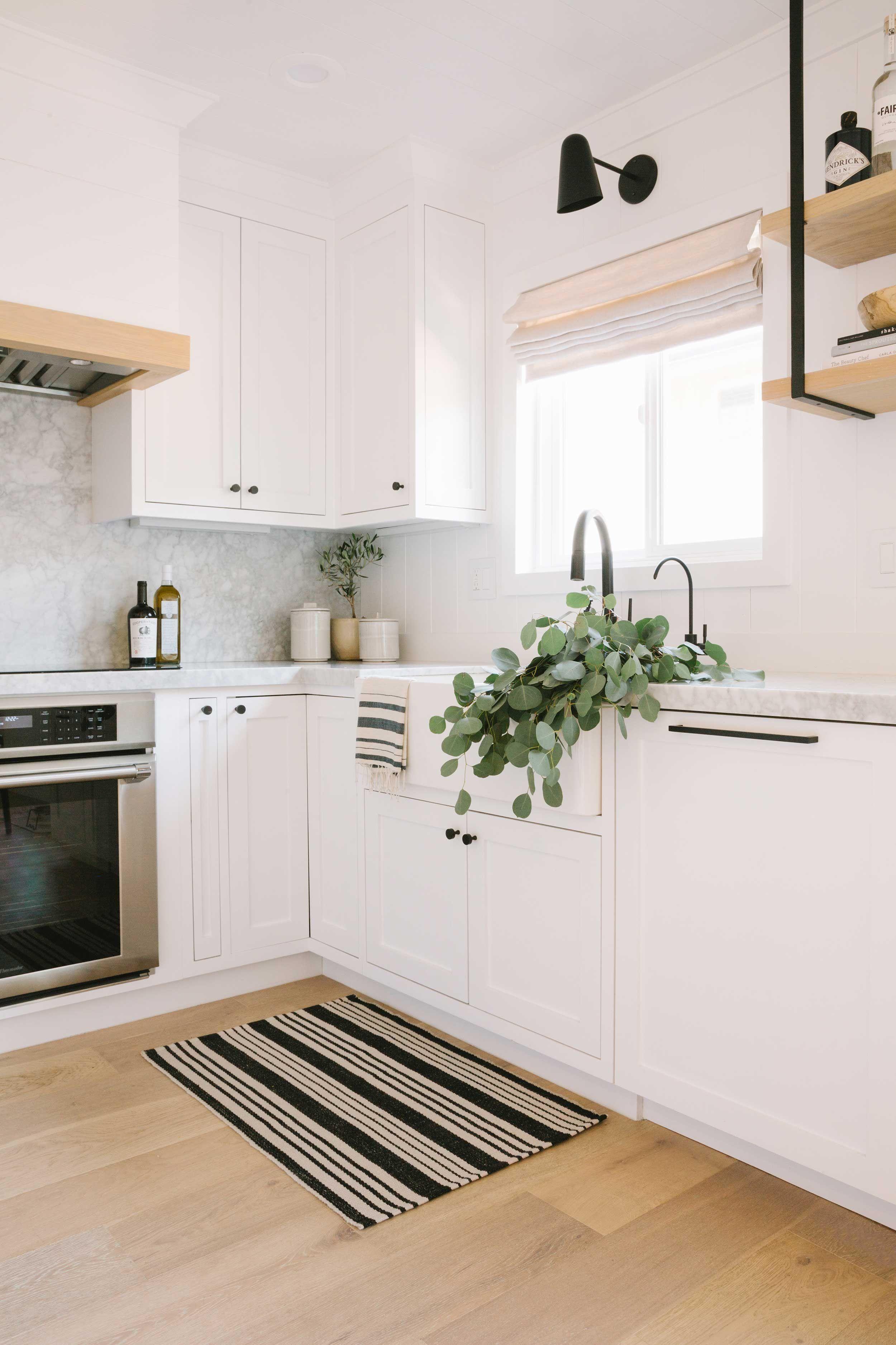 Portes ouvertes: une maison beige mais pas plate!  Cuisine