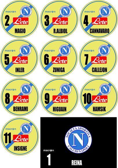 4b5e59b8c3 time de botão Napoli