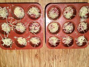 Mini quiche sans pâte pour apéritif dinatoire recette facile et rapide  - Les recettes de sandrine au companion ou pas #aperodinatoirefacile