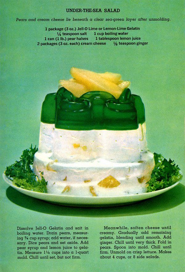 Jellied salad recipes