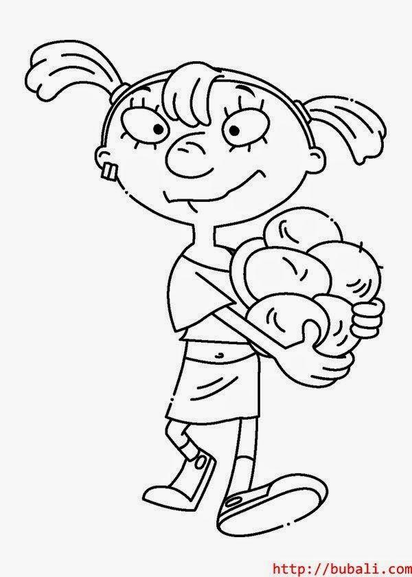 Dibujos Para Colorear Maestra De Infantil Y Primaria Mike Lu Y Og Para Colorear Dibujos Dibujos Para Colorear Diseno De Personajes