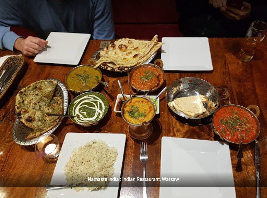 Namaste India to najlepszej jakości jedzenie indyjskie