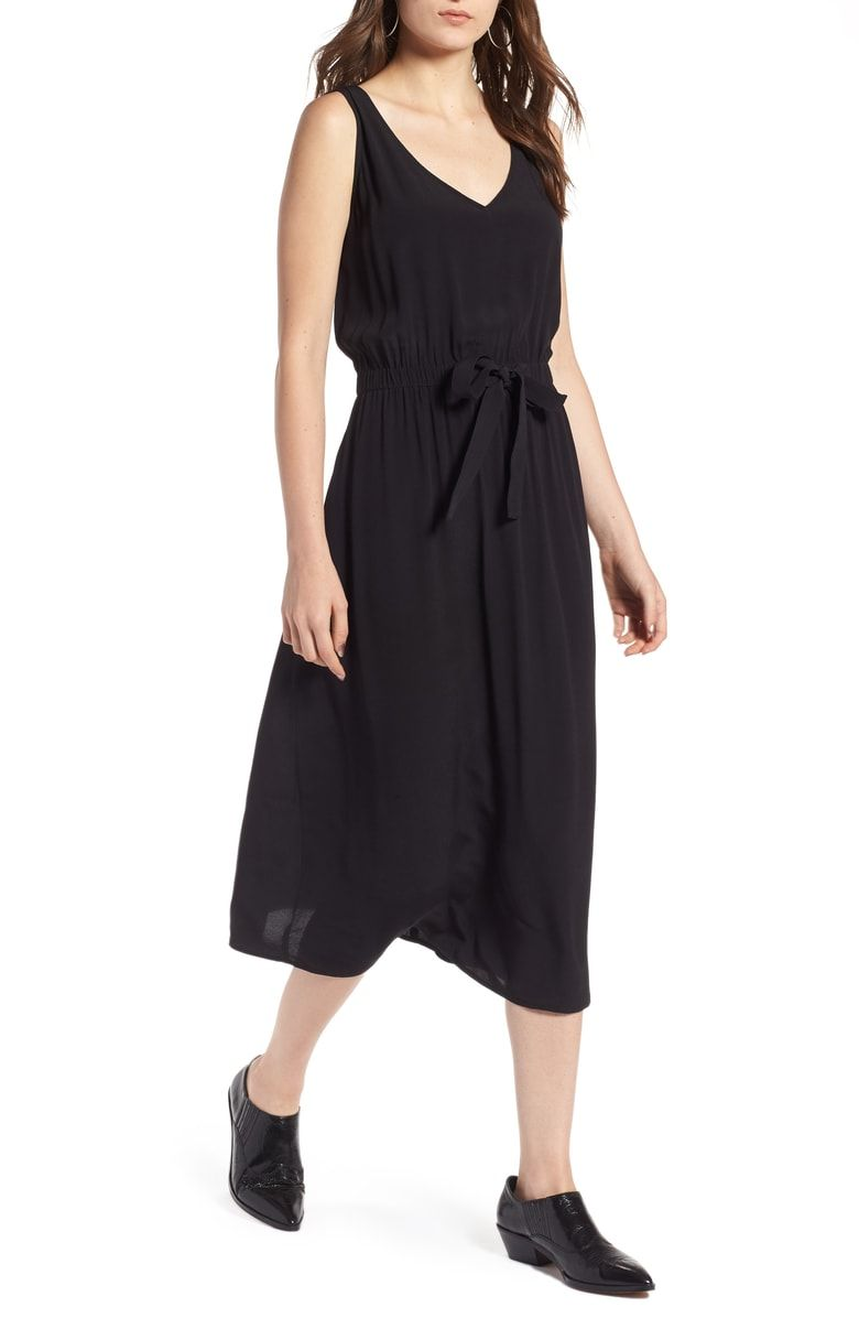 Treasure Bond Blouson Tank Midi Dress Nordstrom Dresses Nordstrom Dresses Midi Dress [ 1196 x 780 Pixel ]