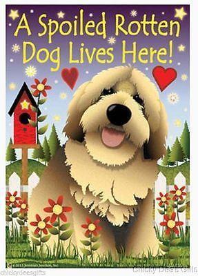 Love Your Dog WOOF House Size Flag JFL069L