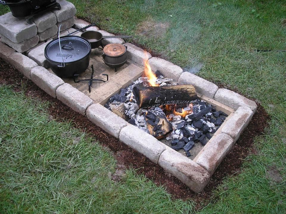 Dutch Oven Cooking Schmortopfgerichte Ofengerichte Feuerstelle Garten