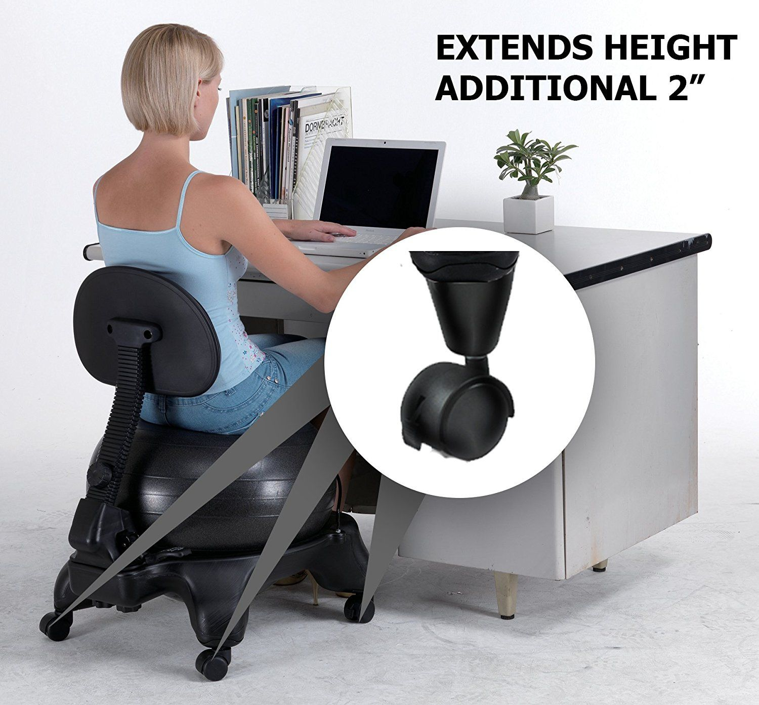 Balance Ball Office Chair Reviews Chevron Desk Exercise Home Furniture Ideas Check More At Http
