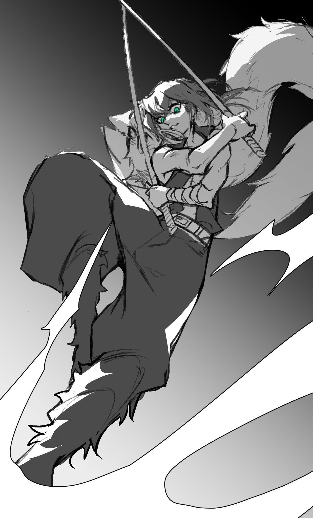 Twitter Demon hunter, Anime, Anime characters