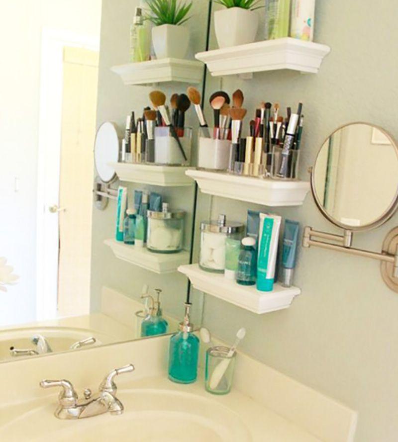 Remek ötletek Hogy A Pici Fürdőszobákban Is Minden Elférjen 7 Es Tipp